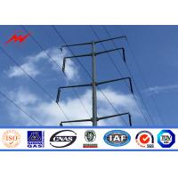 Wholesale Custom Single Arm CCTV Electrical Steel Power Pole / Steel Light Poles from china suppliers