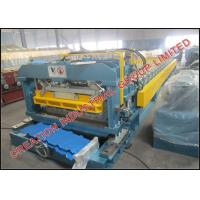 Wholesale Corrugated Aluminium Step Roof Tile Roll Forming Machine with SONCAP Certificate from china suppliers