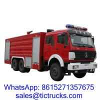 Wholesale 11000L -15000L  336HP Foam Truck 6 x4 BeiBen for sale. from china suppliers