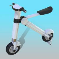 Wholesale 12 Inch Disc Brake Foldable Electric Scooter / Bicycle For Adults 35KM/H from china suppliers