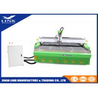 Wholesale 10mm Steel Pipe Heavy Duty CNC Router Table With Water / Air Cooled Spindle from china suppliers