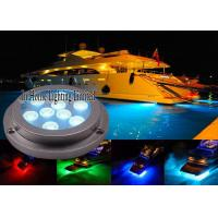 Wholesale 27W IP68 Waterproof Boat Underwater LED Lights RGB Marine Navigation Boat Lights from china suppliers