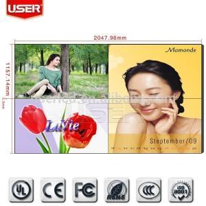 China video matrix video wall,video wall lcd,2x2 lcd tv wall on sale