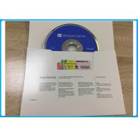 Wholesale Microsoft Windows Softwares Server 2016 Standard 64bit DVD with 5 User CALs and 16 cores OEM Pack from china suppliers