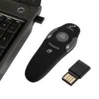 Wholesale 2.4GHz Wireless Presenter with Red Laser Pointers Pen USB RF Remote Control from china suppliers