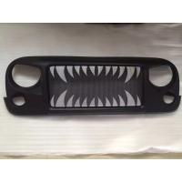 Wholesale Jeep Jk Wrangler Spartan Grille_Land Shark Material: ABS Plastic from china suppliers