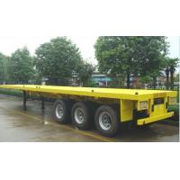 Wholesale 40 FT 3 axles flatbed container semi-trailer from china suppliers
