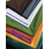 Buy cheap BBTS FINISH MICRO SPUN POLYESTER FABRIC CALENDERED SOFT FINISH from wholesalers