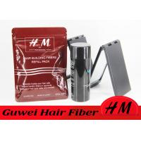 Wholesale Customised Size Hair Styling Fiber , Grey Hair Thinning Powder Bag Style from china suppliers