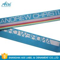 Wholesale Wide Nylon / Polyester / Cotton Underwear Elastic Band With Custom Logo from china suppliers
