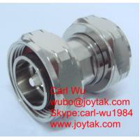 Wholesale DIN 7/16 connector male to male plug to plug coaxial adapter DIN-JJ from china suppliers