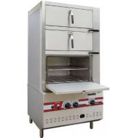 Wholesale Commercial Three Door Gas Steamer Environmental Friendly Steam Cabinet from china suppliers