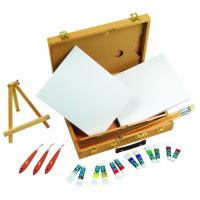 Wholesale Multi Function Art Painting Set Paint Boxes For Artists 39 X 30 X 8cm from china suppliers