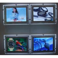 Wholesale Hanging style super slim 6mm crystal advertising light box from china suppliers