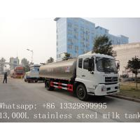 Wholesale high quality road milk tank truck for sale from china suppliers