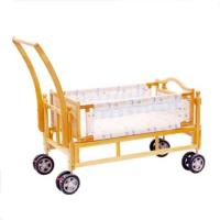 Wholesale Folding Wooden Baby Cot swing New Born Baby Cribs with Wheels from china suppliers