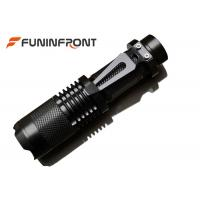 Quality CREE XM-L L2 Handheld  MINI LED Flashlight Zoomable with Clip for Portable Lampe for sale