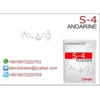 Wholesale GTX-007 SARM Steroids / Selective Androgen Receptor Modulators Powder Andarine S4 from china suppliers