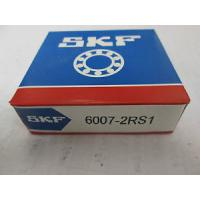 Quality Lubrication Grease Deep Groove Ball Bearing 6007-2RS1 Rubber Seals Both Sides for sale