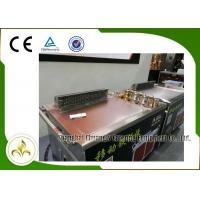 Wholesale Electromagnetic Mobile Teppanyaki Grill Table Stainless Steel Smoke Down Exhaust from china suppliers