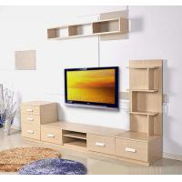 Wholesale Contemporary TV Stands With Drawer , Hanging Cabinet Wall Mounted TV Console from china suppliers