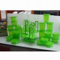 Wholesale Stack-and-store Storage Containers with 54-piece Storage Sets, Dishwasher and Microwave Safe  from china suppliers
