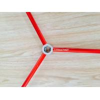 Wholesale Red and Green Color Anodized Aluminum Round Tube / Pipe Used For Tent from china suppliers