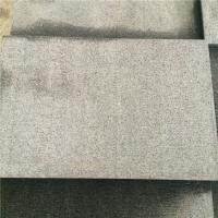 Wholesale China Granite Dark Grey G654 Granite Combed Floor Tile Paving Stone Axed Chopped 60x30x3cm from china suppliers