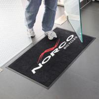 Wholesale Personal Custom Printed Logo Entrance Door Mat With Wholesale Price from china suppliers