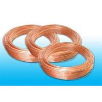 Wholesale Plated Low Carbon Refrigeration Copper Tube , Bundy Tube 8 * 0.6 mm from china suppliers