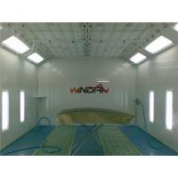 Wholesale Water Born Painting Side Draft Paint Booth With PU Wall Panel from china suppliers