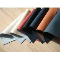 Wholesale 70% Cow Leather Car Upholstery Fabric With Magnolia / Ivory Color from china suppliers