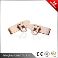 Wholesale Durable small metal lock for bag 40.06*10.55mm,zinc alloy bag clip lock from china suppliers