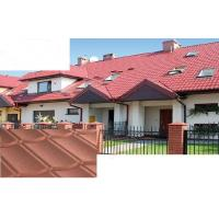 Wholesale Spanish / wave Zinc Coating Stone Coated Metal Roof Tile for resort Decoration from china suppliers