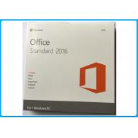 Wholesale Genuine standard Microsoft Office 2016 Pro DVD 32/64 Bit  1PC English version from china suppliers