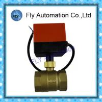 Wholesale BV2011S Electric ball valve , DN32 Synchronous motor valve DC24V AC220V from china suppliers