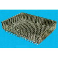 Custom Made Stainless Steel Woven Wire Mesh Basket Design For Any Kitchen Sink