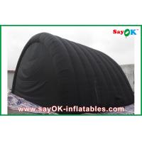 Wholesale Black Waterproof Inflatable Air Tent With Oxford Cloth And PVC Coating For Ourdoor from china suppliers