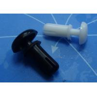 Wholesale VK70036 Black / White Plastic Rivets , 66 Nylon Push Rivets R2056 R2672 R3045 from china suppliers