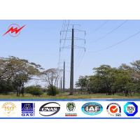 Wholesale Gr50 material 2.5mm electric power pole distribution structures for transmission line from china suppliers