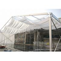 Wholesale Outdoor Wine Parties / Wedding Decoration Tent 15m With Wood Floor from china suppliers