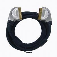 Wholesale Full metal shell type scart cable with ferrite cores from china suppliers