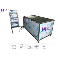 Wholesale 30Pcs Transducer Ultrasonic Cleaning Machine 1500W For Automotive Engine 1 Basket / 30 Min from china suppliers