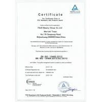 YILIZI Beauty Equipment Group co.,ltd Certifications