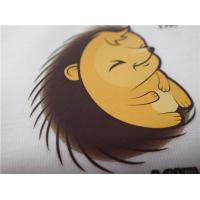 Wholesale Cartoon Pattern Silk  Screen Heat Transfer Wash Labels For Garment Or Bags from china suppliers