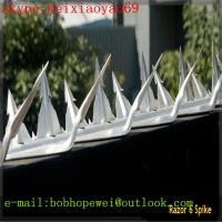Wholesale Wall Spikes/ Fence Spikes /Anti climb Spikes/Fence Top Spikes/Metal Fence Spikes/Security Spikes/fence spikes security from china suppliers