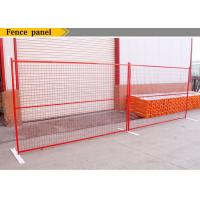 Wholesale Canada Powder Coated Temporary Fence Panel 6ft x 9ft 6ft x10ft for sale ,construction fence for hire from china suppliers