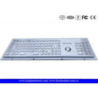 Wholesale 103 Keys Trackball Rugged Metal Keyboard With Number Keys , Function Keys from china suppliers