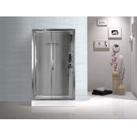 Wholesale Tempered Glass Rectangular Shower Cabins , Sliding Door Shower Cubicles from china suppliers