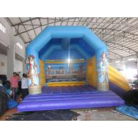 Quality Plato 0.55mm PVC Tarpaulin Bounce House Combo Commercial Grade for sale
